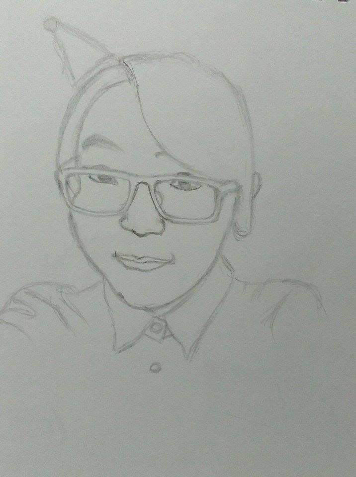 Portrait of me 3 by limshiyun1636