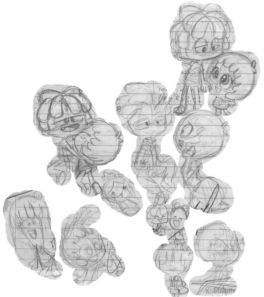 Jelly Jamm _Doodle_ by nekoni-klonoa2