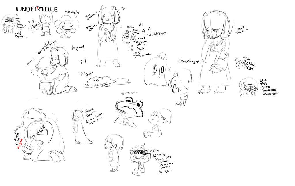 Undertale Demo Doodle By Nekoni-klonoa2 On DeviantArt