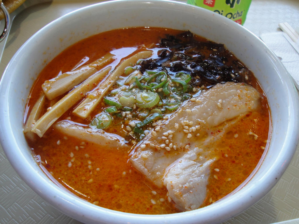 Spicy Miso Ramen by bandoodie