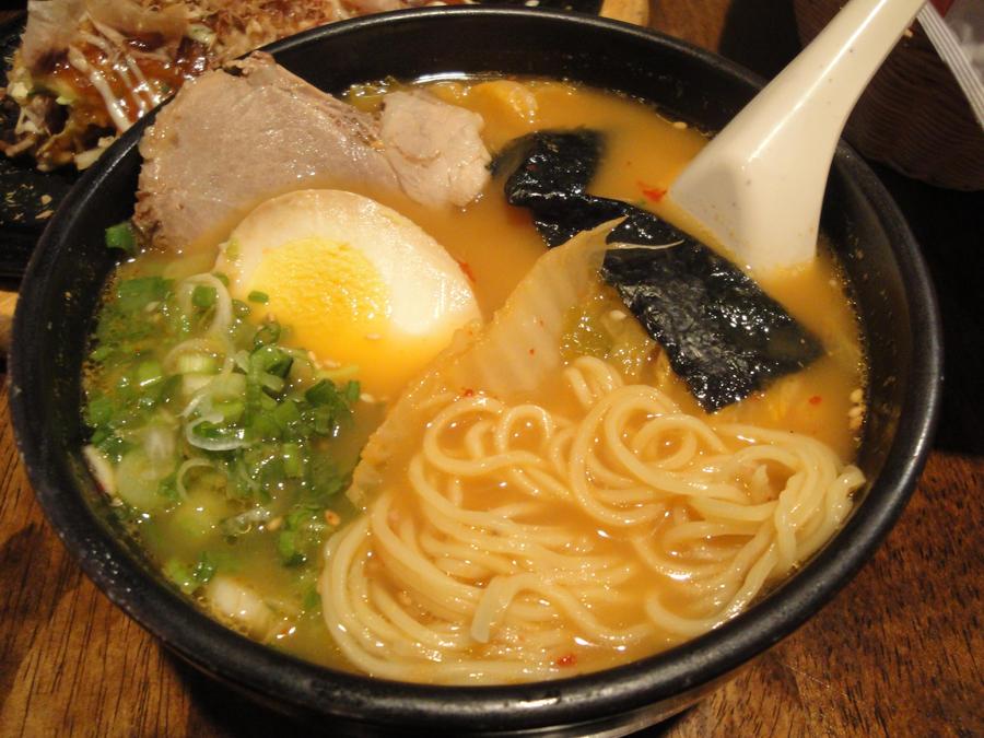 Kimchi Ramen by bandoodie
