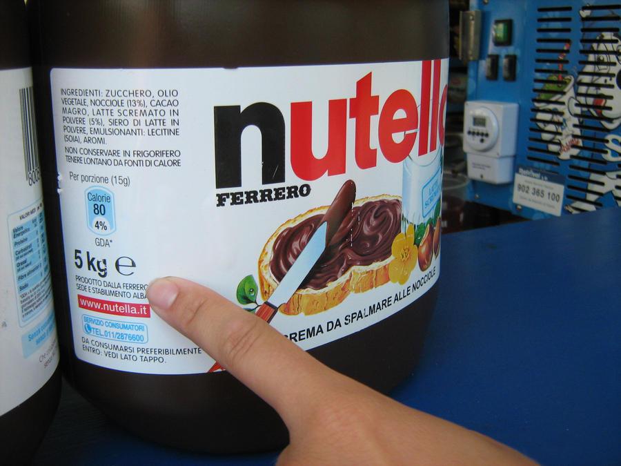 5 Kg Nutella? by Janinnka on DeviantArt