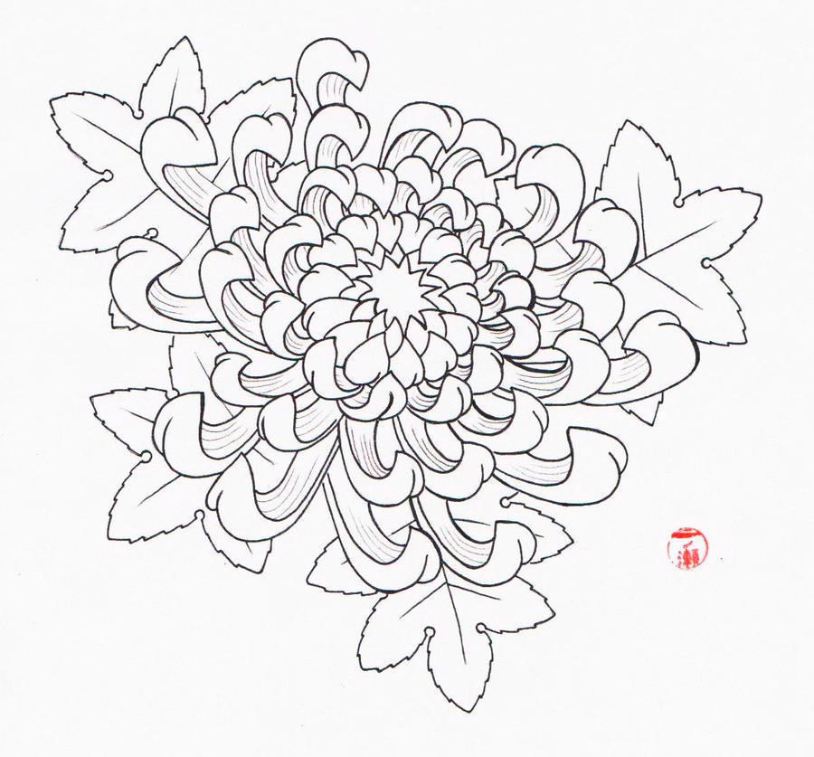 Chrysanthemum Tattoo Design Meaning