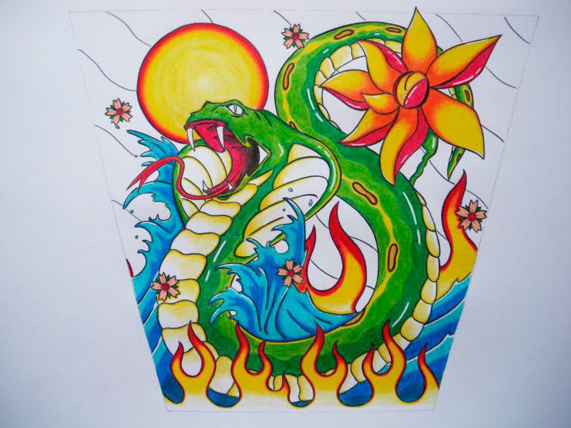 Snake by Laranj4