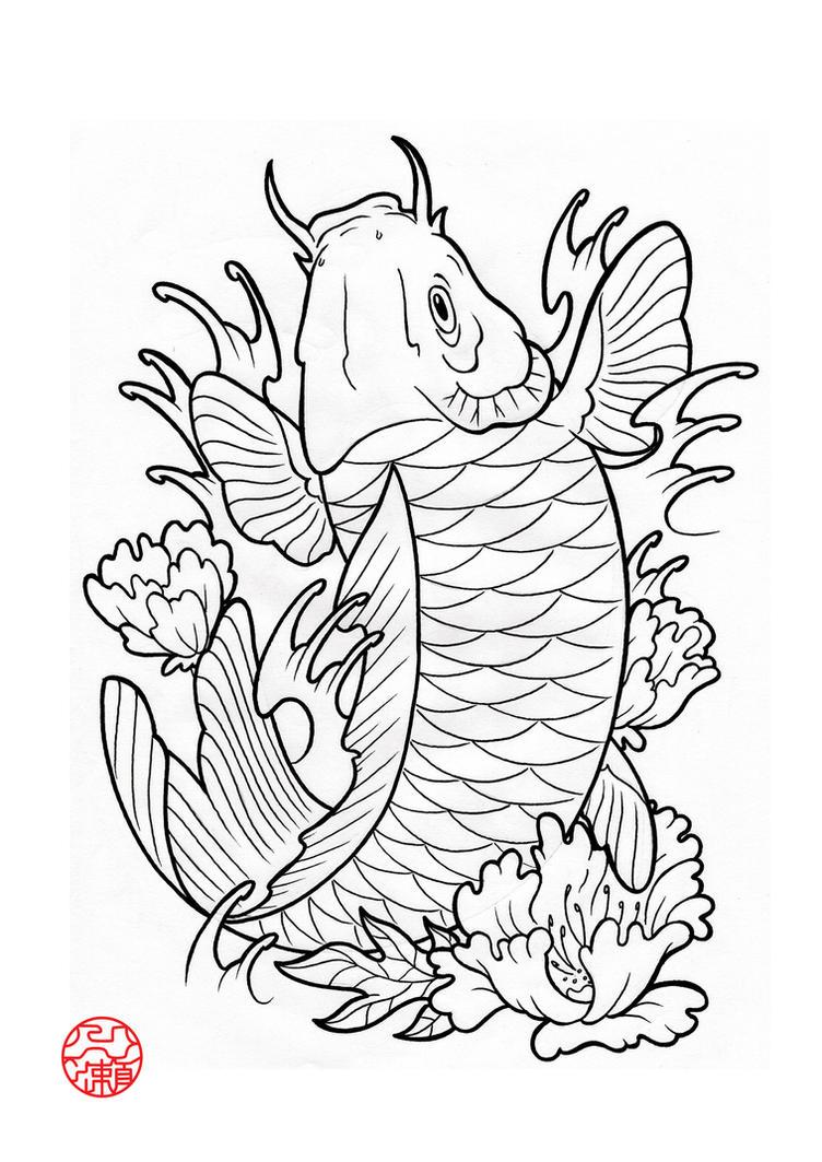 Koi Fish 4 by Laranj4