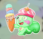 inedible ice cream