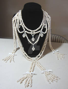 Affair of the diamon necklace ~pearl version~