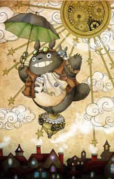 Steampunk Totoro