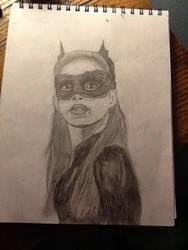 Catwoman TDKR portrait by Allicat1400