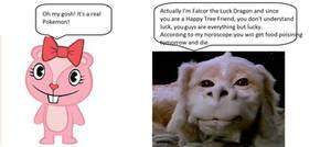Giggles Meets Falcor