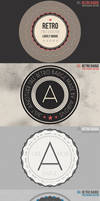 Free Photoshop retro Badges by AuroveDesign