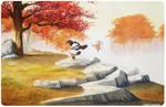 Kung Fu Panda Watercolor