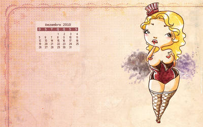 Calendario Dezembro 2010 by samesjc
