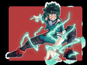 Deku| Fan Art | My Hero Academia 2