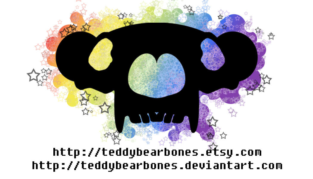tbb rainbow blob cards