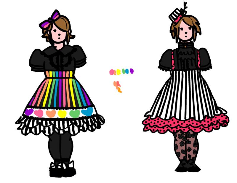dream skirts by teddybearbones