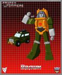 Transformers G1 Brawn (Cartoon)