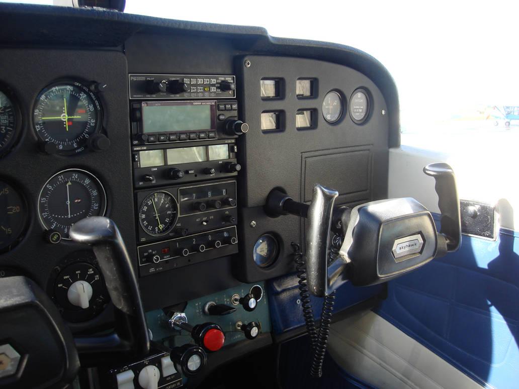 Cessna 172 Flight Panel