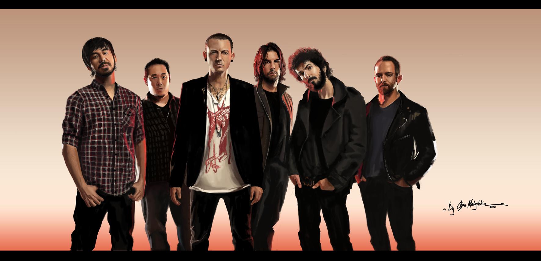 Linkin Park - Speed Painting 2013 by StayKidLinkin Park 2013