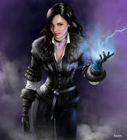 Yennefer of Vengerberg by RauchArt