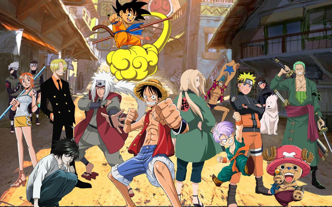 Manga Desktop Wallpaper By Tigroleo