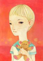 Solitary child 1 by hikarishimoda