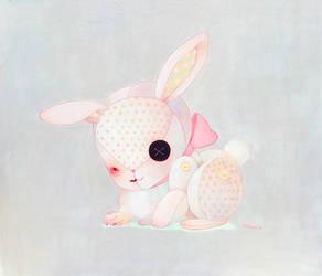 Rabbit's stuffed animal