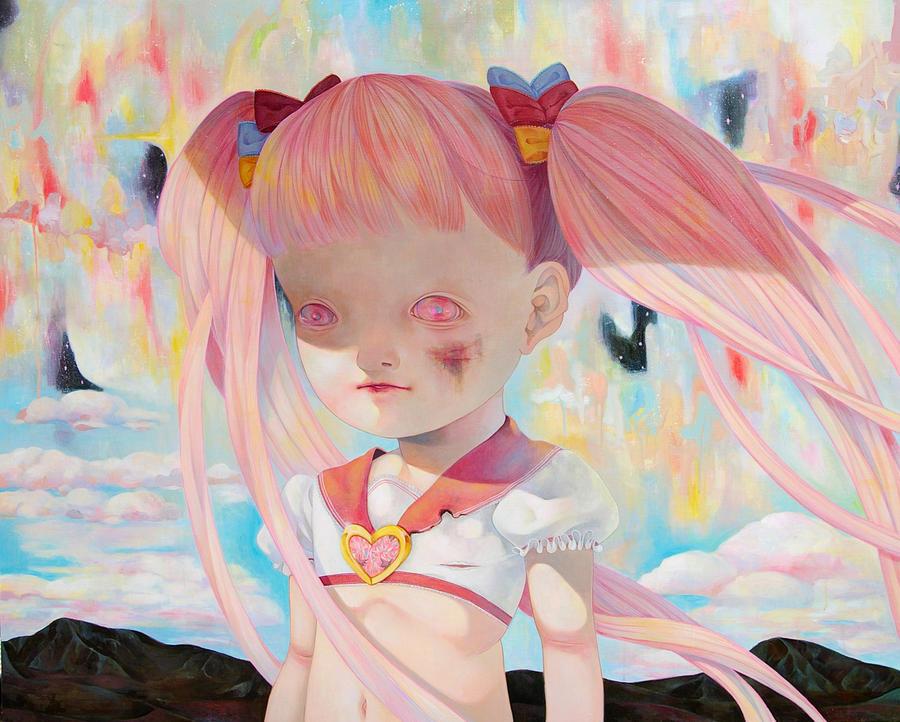 Who rescue 'Magical girl'? by hikarishimoda