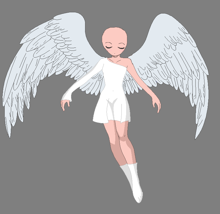 Angel base by TheTerrorOfYou on DeviantArt