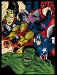 Avengers T-Shirt Design For Contest