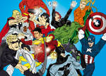 The Justice League Vs The Avengers