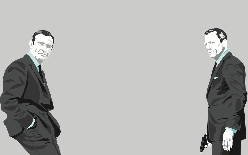 James Bond by TEhopefulcomicartist