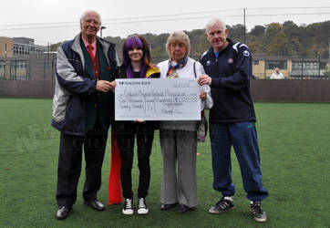 EAFA Charity Skydive Cheque Presentation-1,720 GBP by ImLookingForTime