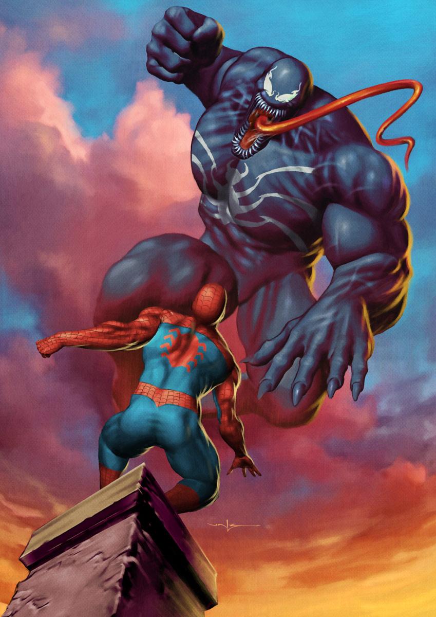 Spiderman vs Venom - updated by CValenzuela