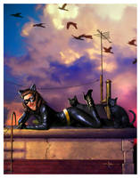 Catwoman by CValenzuela