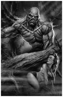 The Swamp Monster by CValenzuela