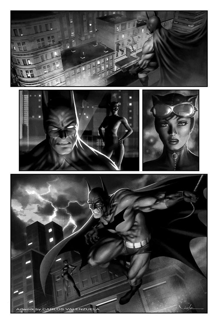 Batman - Page by Valzonline
