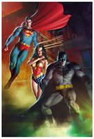 DC Heroes by CValenzuela