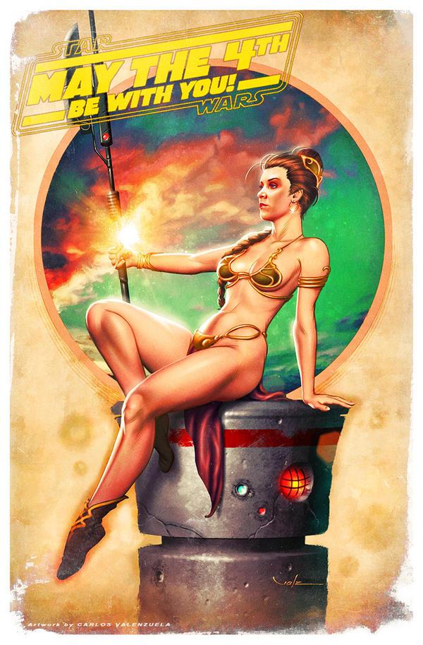 Princess Leia by Valzonline