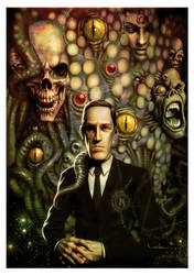 Homage to Lovecraft by CValenzuela