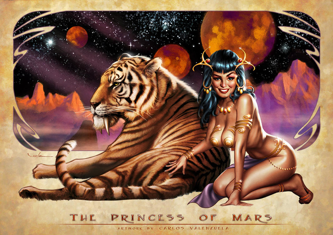 Princess of Mars by Valzonline