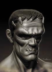 Frankenstein - WIP 2 by CValenzuela
