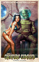 The Creature Exposed by CValenzuela