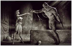 The Mummy Rises by CValenzuela