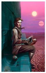 Leia the Starwatcher by CValenzuela