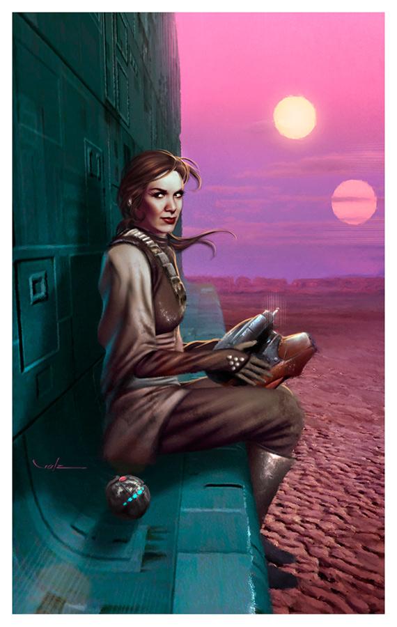 Leia the Starwatcher by Valzonline