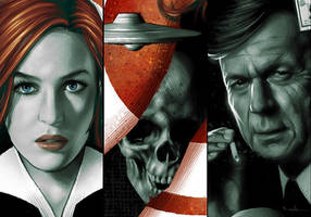 X-Files Poster [details] by CValenzuela