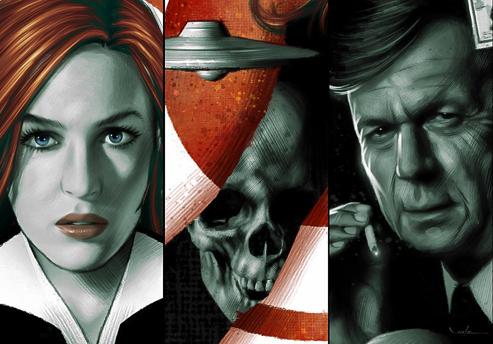 X-Files Poster [details] by Valzonline