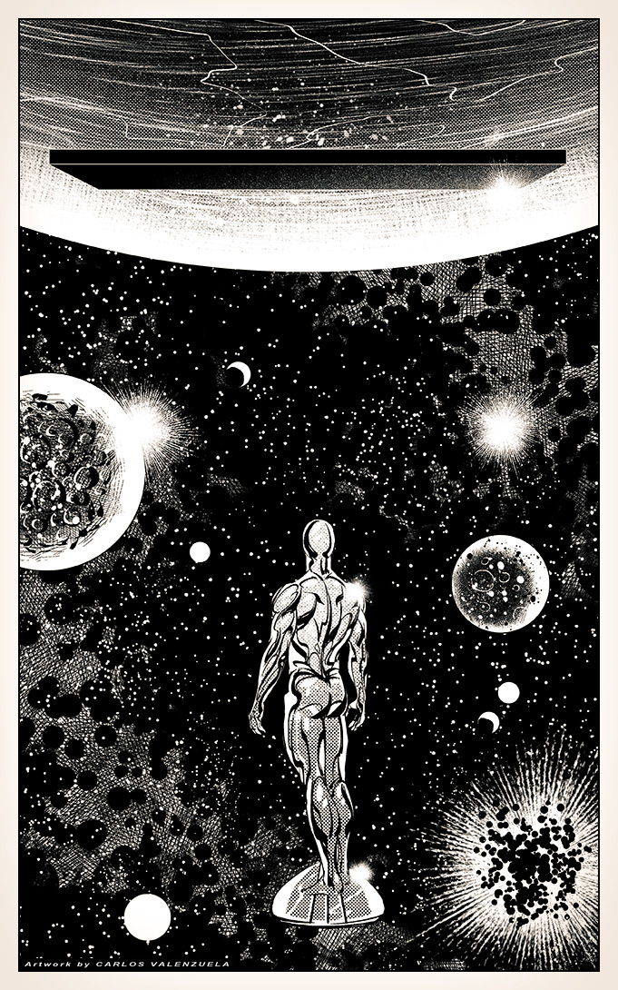 Silver Surfer's Odyssey by Valzonline