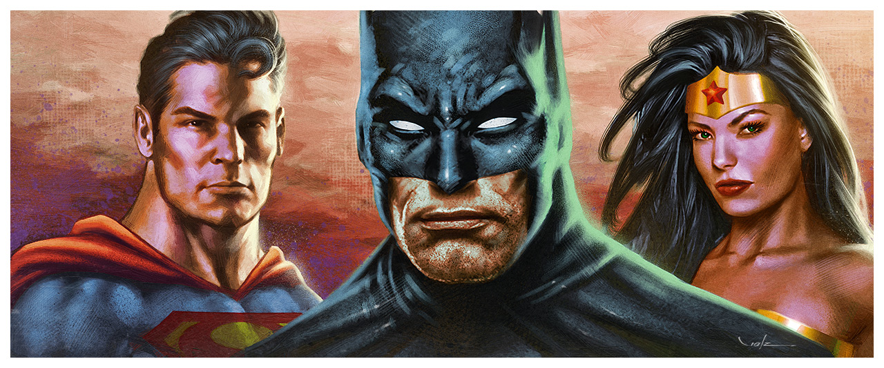 The DC Trinity by Valzonline